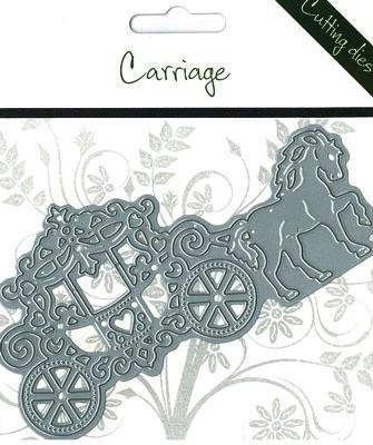 Romak Stanzform Hochzeitskutsche / Carriage 817568