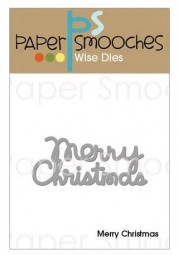 Paper Smooches Stanzform ' Merry Christmas ' OCD273