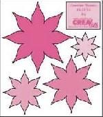 Crealies Creative Flowers # 12 (rosa ) CLCF-12