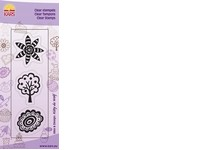 Clear Stamps flower fantasy 1