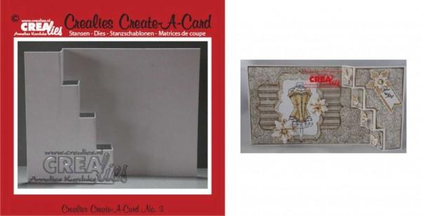 Crealies Stanzform Create A Card Nr. 3 CCAC03