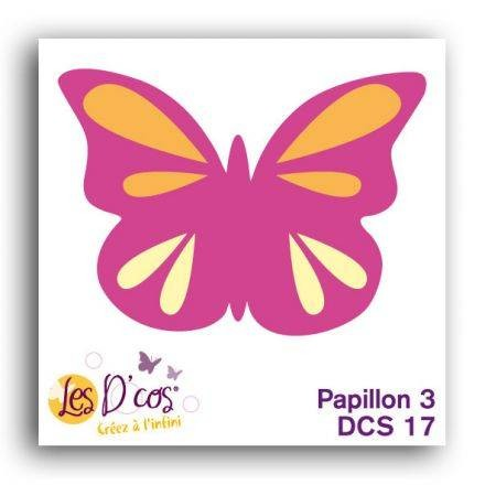 Toga Stanzform Schmetterling 3 / Papillon 3 DCS17