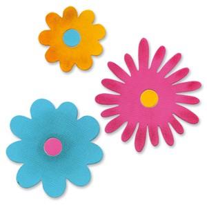 Sizzix Stanzform Originals LARGE Blumenlagen # 3 / flower layers # 3 654982