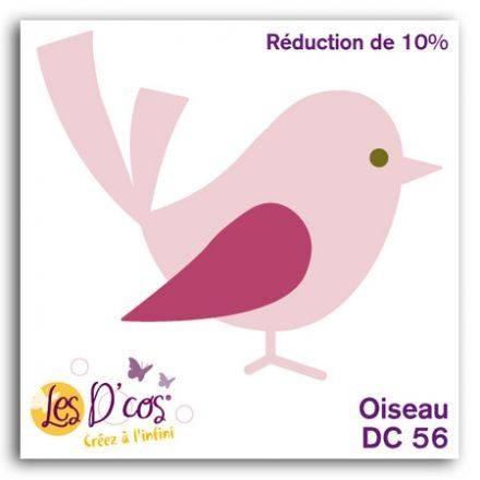 Toga Stanzform Vogel / Oiseau DCS56