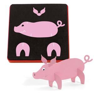 Allstar Schwein 3 - D / pig 3 - D A 10738