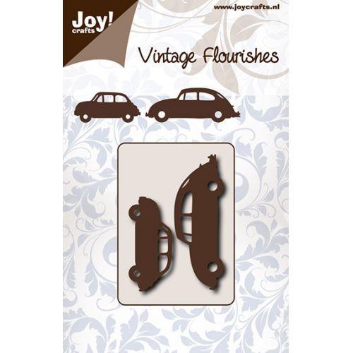 Joycrafts Stanz-u. Prägeform Autos Beetle u. Mini 6003/0074