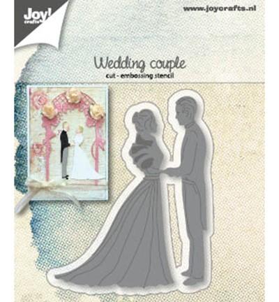 Joycrafts Stanzform Hochzeitspaar / Wedding Couple 6002/1267