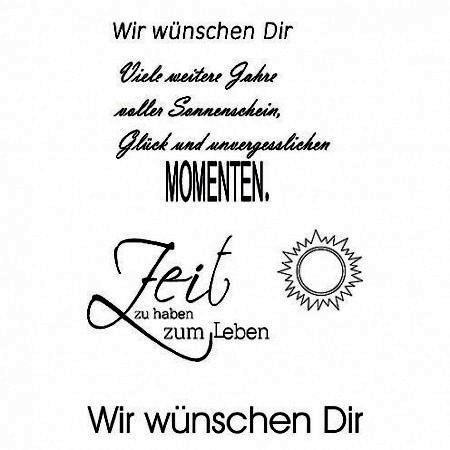 Efco Clear Stempel-Set ' Wir wünschen Dir.. ' 4511214