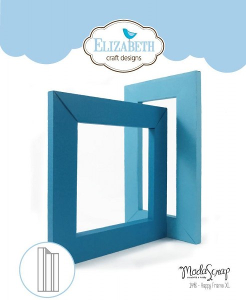 Elizabeth Craft Stanzform Rahmen XL / Happy Frame XL 1498
