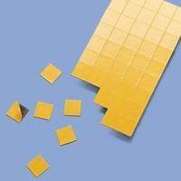 Magnetplättchen selbstklebend 1,5 x 1,5 cm QUADRAT TAKKI-15