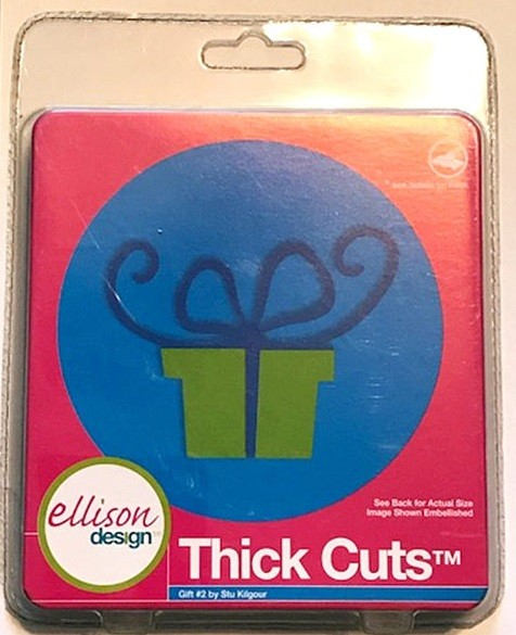 Ellison Design Thick Cuts Stanzform Geschenk # 2 / gift # 2 23327