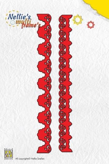 Nellie Stanz- u. Prägeformen Multi 2-Border-3 MFD028