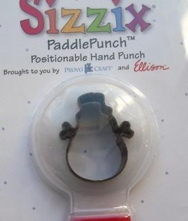 Sizzix Paddle Punch Schneemann / snowman 38-0862