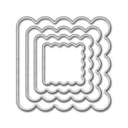 Die-namics Stanzform STAX Mini Album Scallop Square 18678