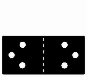 AccuCut Stanzform Zip' e Cuts Scharnier # 3 / hinge # 3 ZHW 085