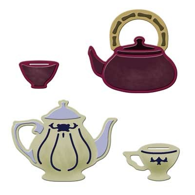 Spellbinders Stanzform Tee Zeit / tea time S3-144