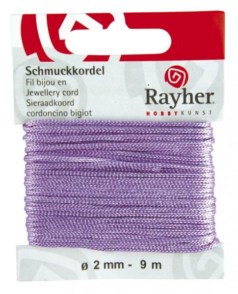 Schmuckkordel 2 mm FLIEDER 89-569-35