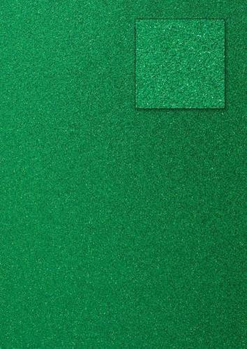 Glitterkarton DUNKELGRÜN A 4 653002/0006