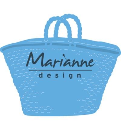 Marianne D Stanz-u. Prägeform Strand-Tasche LR0543