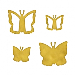 Spellbinders Embellishments Blank Butterflies One MB6-008