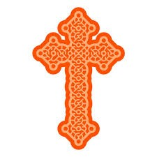 Tonic Studios Stanzform Kreuz / Celtic Cross 2687E