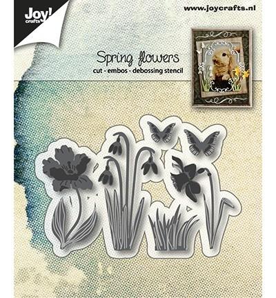 Joycrafts Stanzform Frühlingsblumen / Spring Flowers 6002/1280