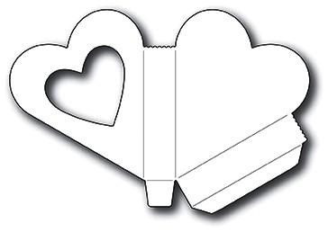 Memorybox Stanzform Herz- Box / Heart Gift Box 99954