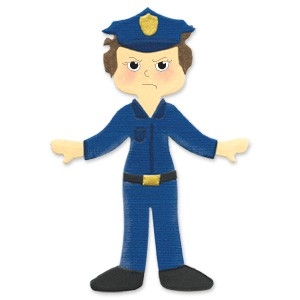 Polizei-Uniform / police uniform 655 401