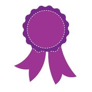 AccuCut Slimline Stanzform Siegerschleife / Grand Prize Ribbon 40009