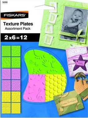 Fiskars Texture Plates Set 5686 ( 6 Platten ) 5686