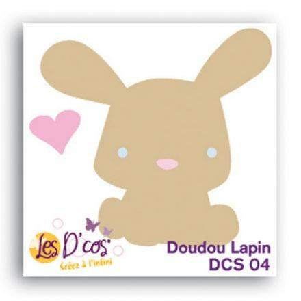 Toga Stanzform Hase / Doudou Lapin DCS04