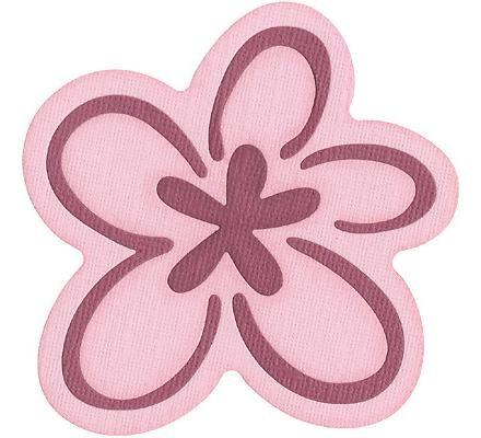 "Quickutz Stanzform Blume / flower ( 3,75 "" whimsical ) REV-0017SK"