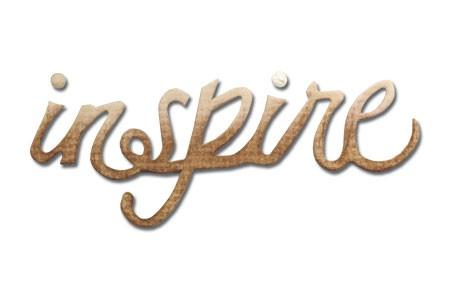 "Sizzix Stanzform Originals MEDIUM ""inspire "" phrase inspire 656571"