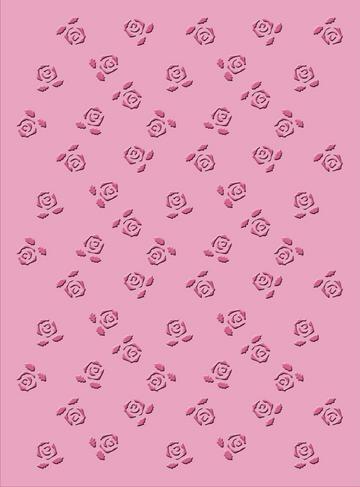 Cuttlebug Prägefolder Rosen / roses 37-1934
