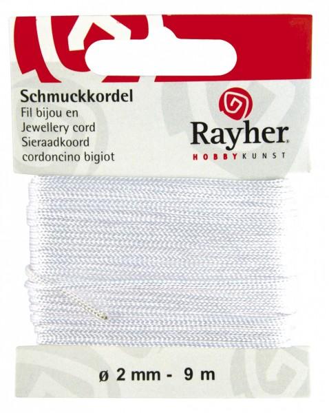 Schmuckkordel 2 mm WEISS 89-569-02