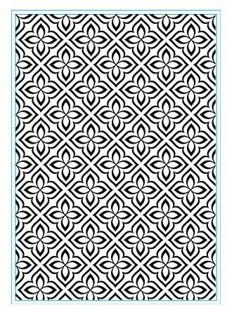 Elizabeth Craft Prägefolder Flower Mosaic E111