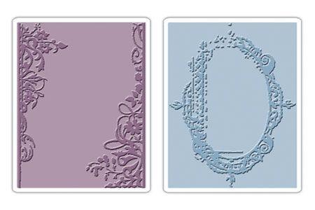 Sizzix Prägefolderset Fancy & Floral Frames 657197