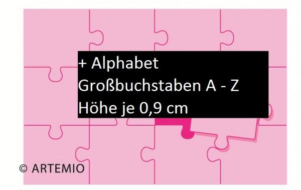 Artemio Happycuts Stanzformen Puzzle + Alphabet 18032001