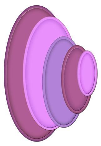 Spellbinders Stanzform Mega Ovals Large S5-023