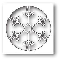 Memorybox Stanzform Schneeflocke im Kreis Collage / Winsome Snowflake Collage 99844