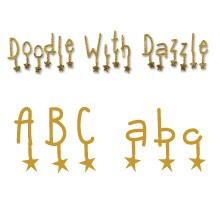 Sizzlits Alphabet Doodle with Dazzle 654 818