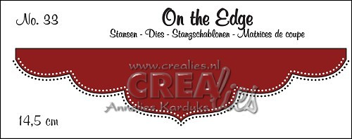 Crealies Stanzform On the Edge Double Dots Nr. 33 CLOTE33