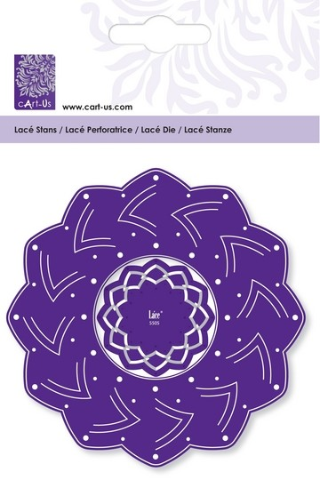 Cart-Us Lacé Stanz-u. Prägeschablone Rozet Dots 001856/5505