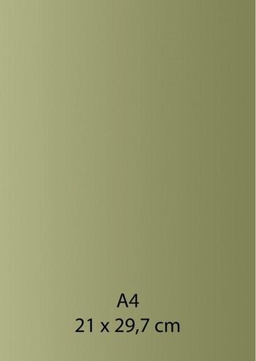 Pearl Papier A 4 GRÜN / HELL-GRÜN mit Klebefolie 652000/1280