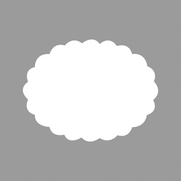 Rayher Motivstanzer Oval gewellt Breite 6,3 x 4,7cm 89-745-00(g