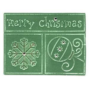 Sizzix Embosslits XL Merry Christmas 655 386