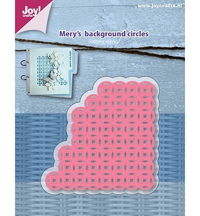 Joycrafts Stanzform Mery's BAckground Circles 6002/1158
