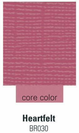 Cardstock heartfelt 30,5 cm X 30,5 cm 070-BR030