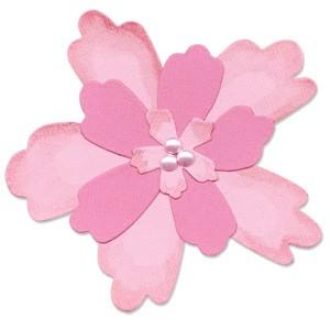 Sizzix Stanzform BIGZ Blume # 4 / Flower Layers # 4 655370