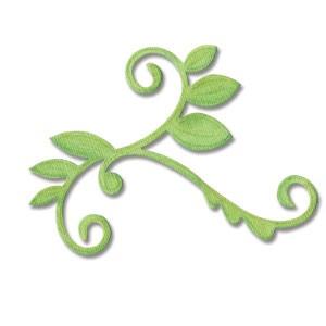 Sizzix Stanzform BIGZ Rebe mit Blätter / vine w/ leaves 656525